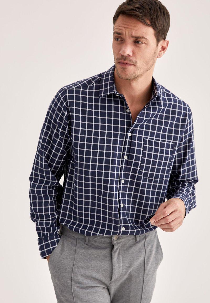 DeFacto - Formal shirt - indigo