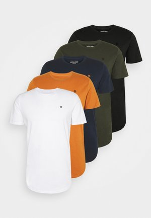 JPRBRODY TEE CREW NECK 5 PACK - T-shirt basique - multi