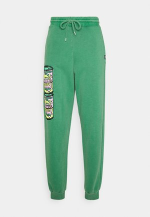 BUBBLE GUM CAN - Tracksuit bottoms - green