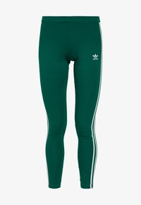 adidas Originals - ADICOLOR 3 STRIPES TIGHTS - Leggings - noble green - 3