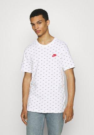 TEE MINI - T-shirt con stampa - white/black/university red