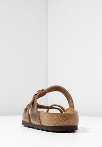 Birkenstock - MAYARI - Mules - tabacco brown - 5