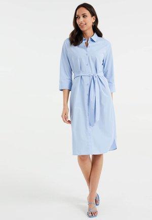 Košilové šaty - light blue
