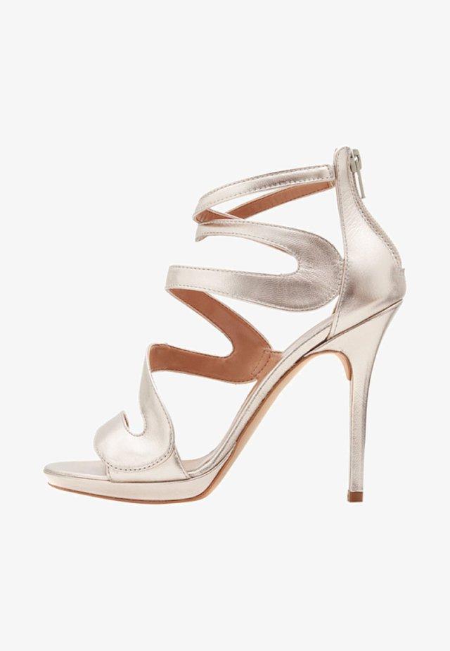 MARISOL - Sandalen met hoge hak - gold