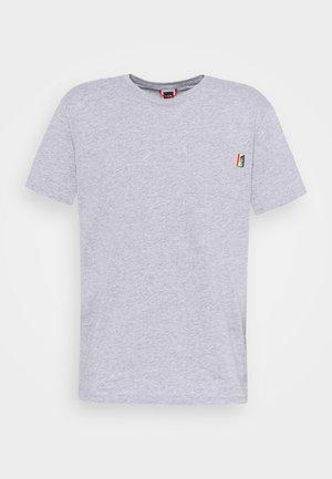 RAINBOW TEE - T-shirt con stampa - light grey heather