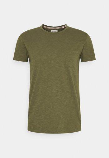 T-shirt basique - multi/aged oak