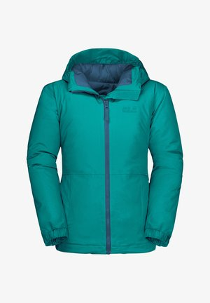ARGON STORM - Soft shell jacket - green ocean
