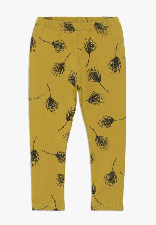 PINE LEGGINGS - Leggings - Trousers - golden