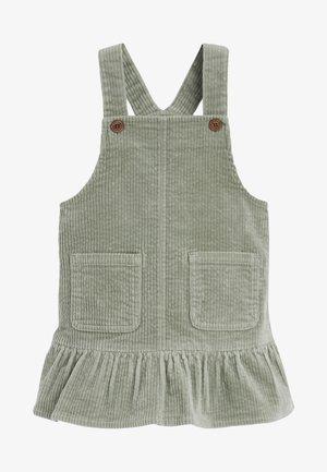 FRILL - Korte jurk - green