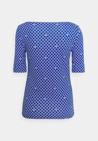 Lauren Ralph Lauren - JUDY ELBOW SLEEVE - Print T-shirt - sapphire star/white - 7