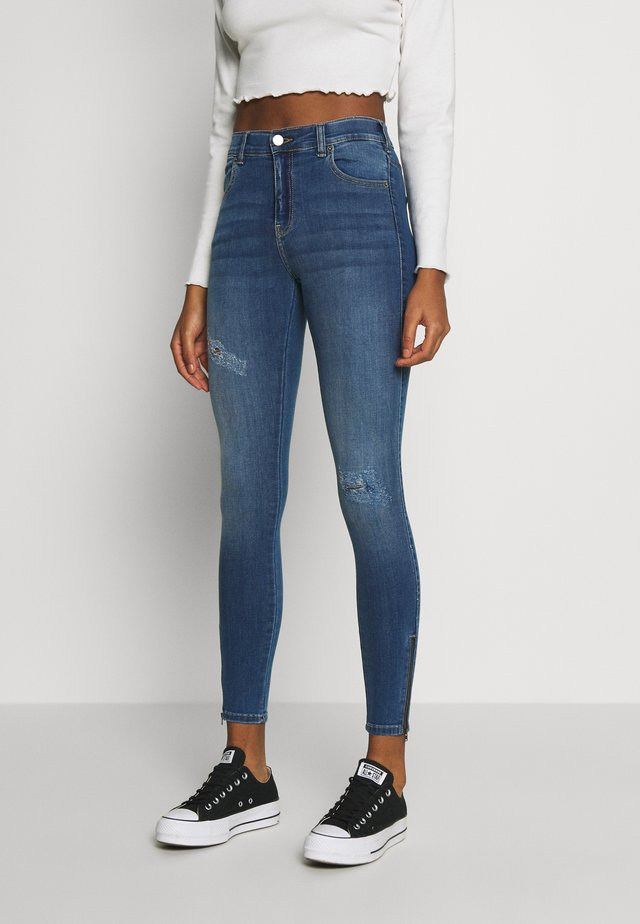 LEXY ZIP - Jeans Skinny Fit - vagabond blue