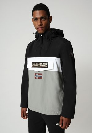 RAINFOREST SUMMER BLOCK - Windbreaker - medium grey solid