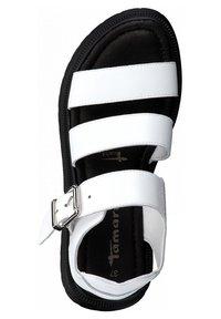 Tamaris - Platform sandals - white - 1