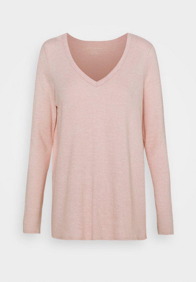 T-shirt à manches longues - blush