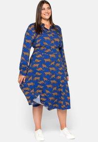 Sheego - A-line skirt - ultramarin - 1
