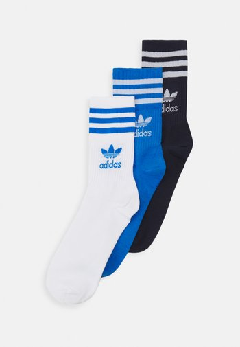 MID CUT 3 PACK UNISEX - Ponožky - white