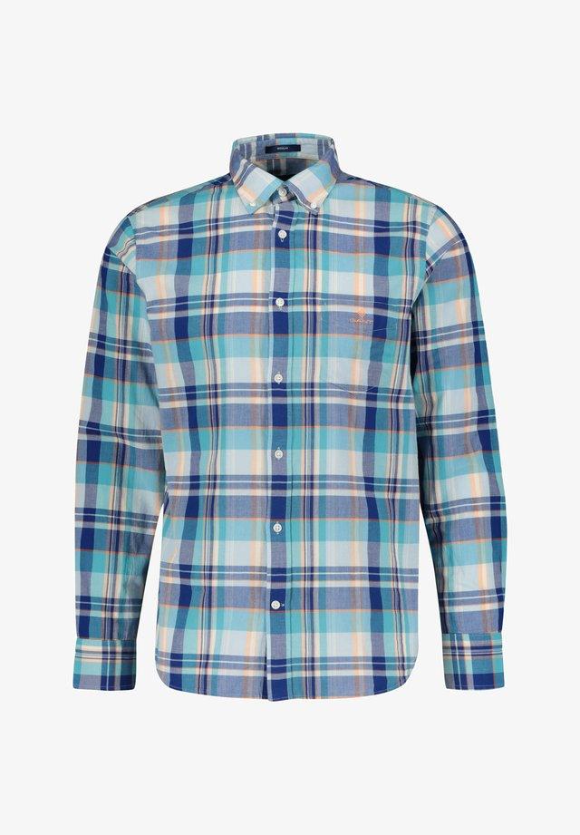 CLASSIC MADRAS - Shirt - aqua (53)