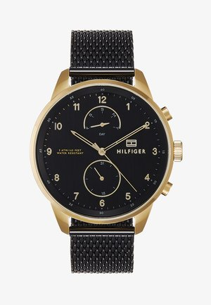 CHASE - Chronograph watch - black/gold-coloured