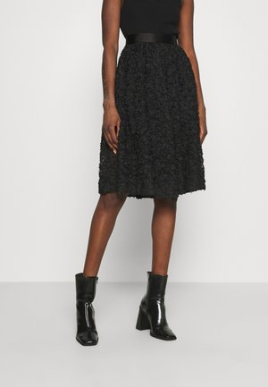 ROBINA - A-line skirt - anthracite black