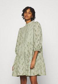 YAS - YASNADINE DRESS - Day dress - shadow - 0