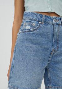 PULL&BEAR - Shorts di jeans - blue - 3