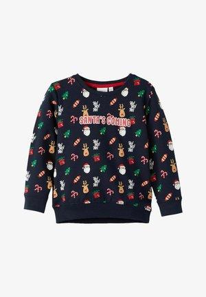 WEIHNACHTS - Sweater - dark sapphire
