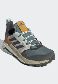 adidas Performance - TERREX TRAILMAKER BLUE HIKING SHOES - Hiking shoes - green - 4