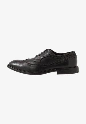 CLAUDE - Smart lace-ups - black
