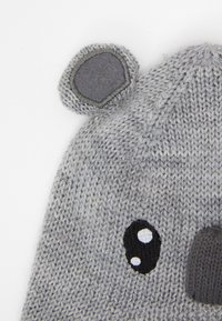 Name it - NBNWRUNI HAT  - Čepice - grey melange - 2