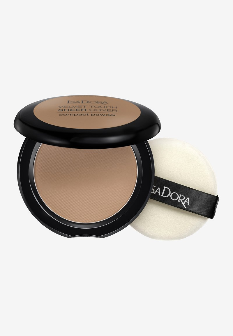 IsaDora - VELVET TOUCH SHEER COVER COMPACT POWDER - Powder - neutral almond