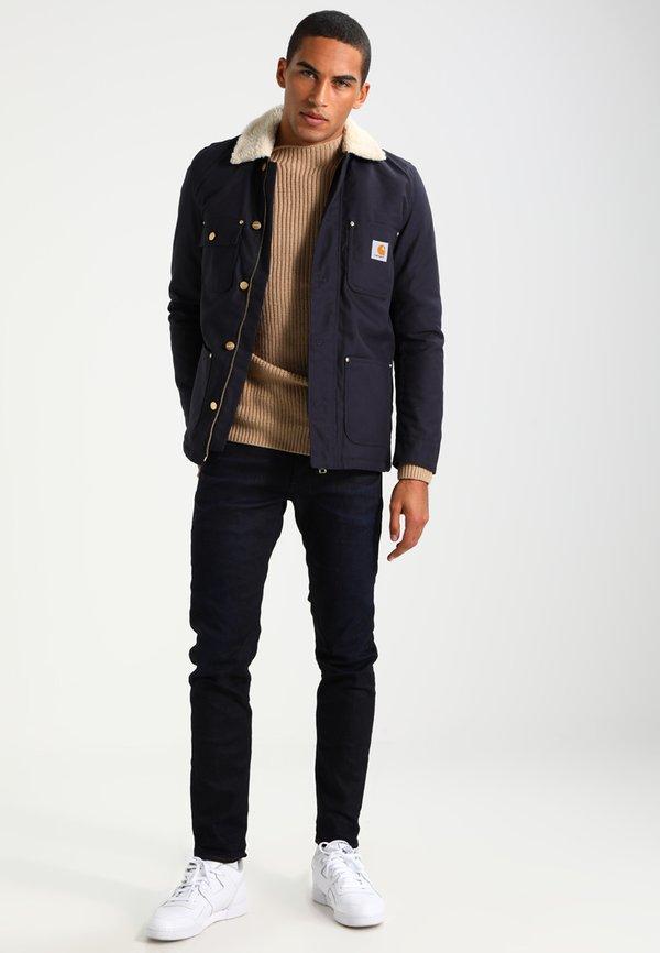 G-Star D-STAQ 5-PKT SLIM - Jeansy Slim Fit - dark aged/rinsed denim Odzież Męska OUIP