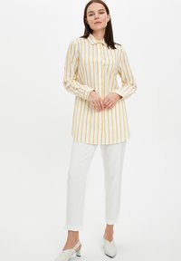 DeFacto - Button-down blouse - yellow - 1