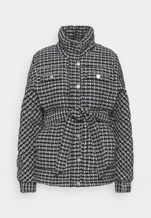 GANETTE - Winter jacket - noir/blanc