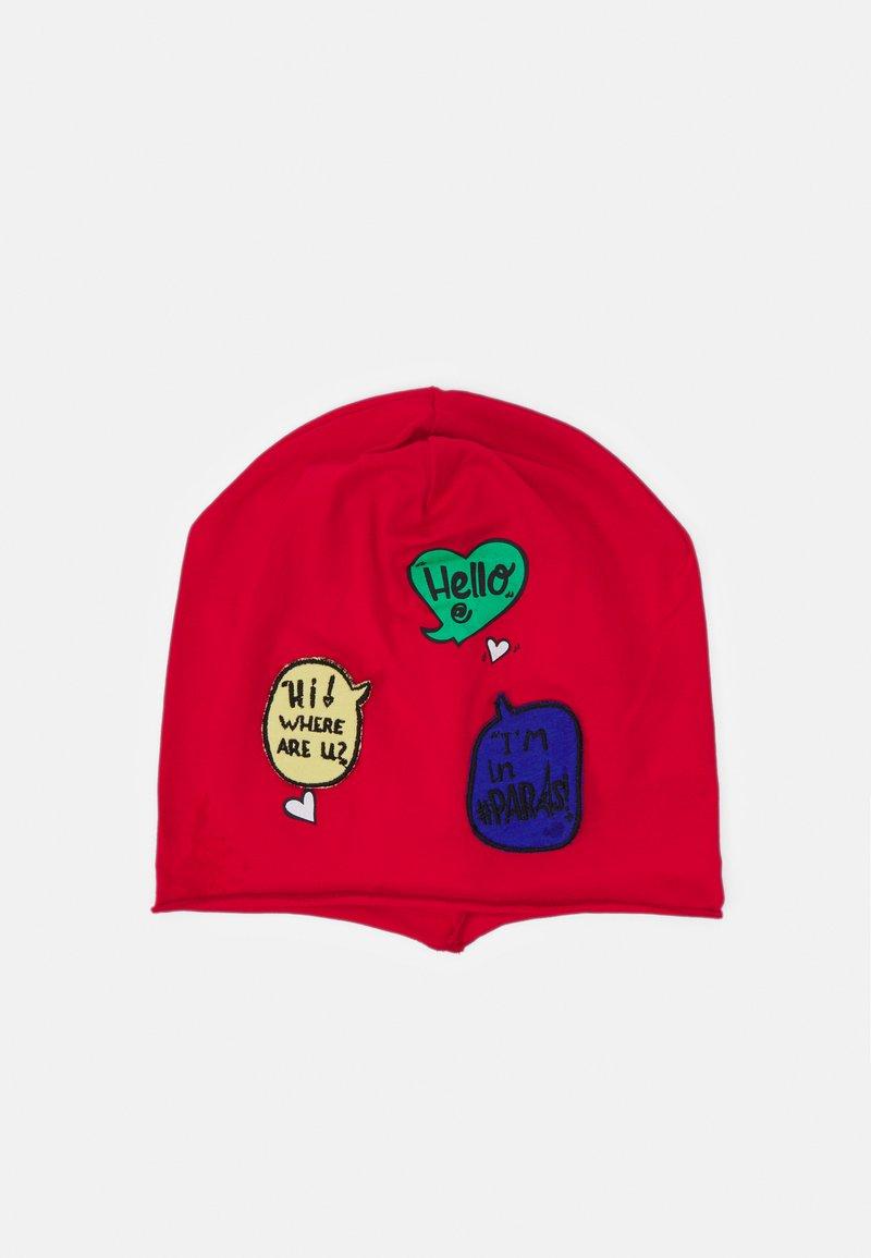 Benetton - HAT UNISEX - Beanie - red