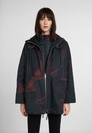 RAIN WINTER JUNGLE - Regenjacke / wasserabweisende Jacke - green