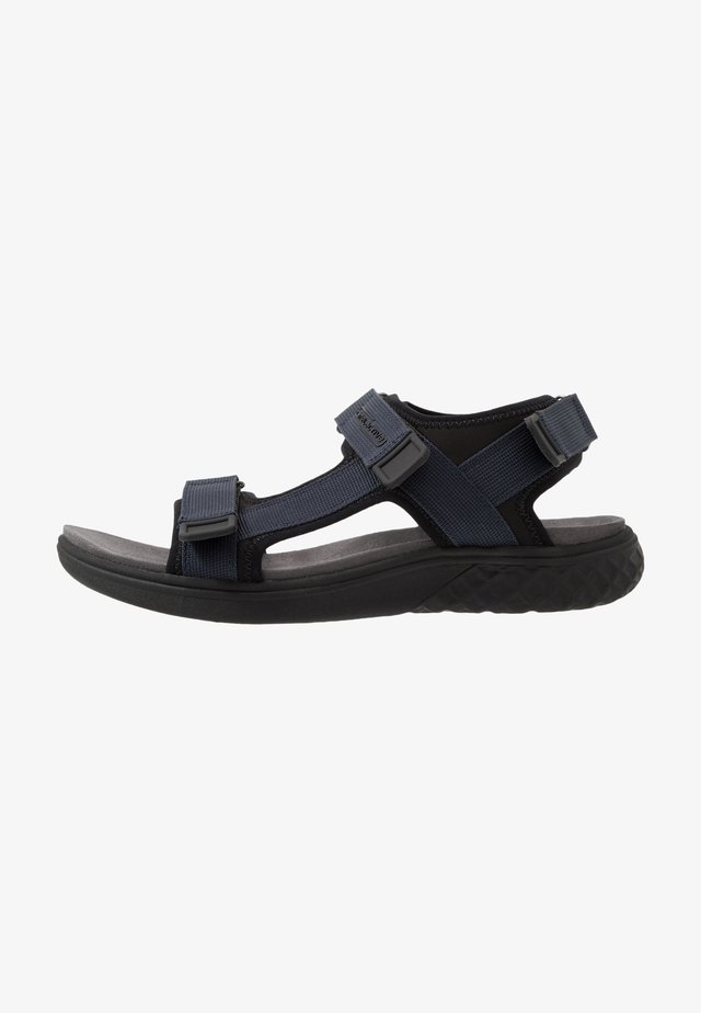 TREK - Chodecké sandály - midnight/black
