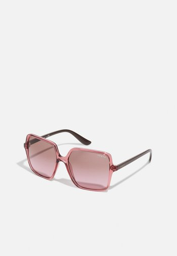 Sunglasses - transparent coral