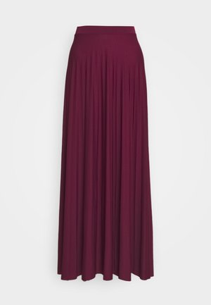 HEBE - Maxi skirt - berry