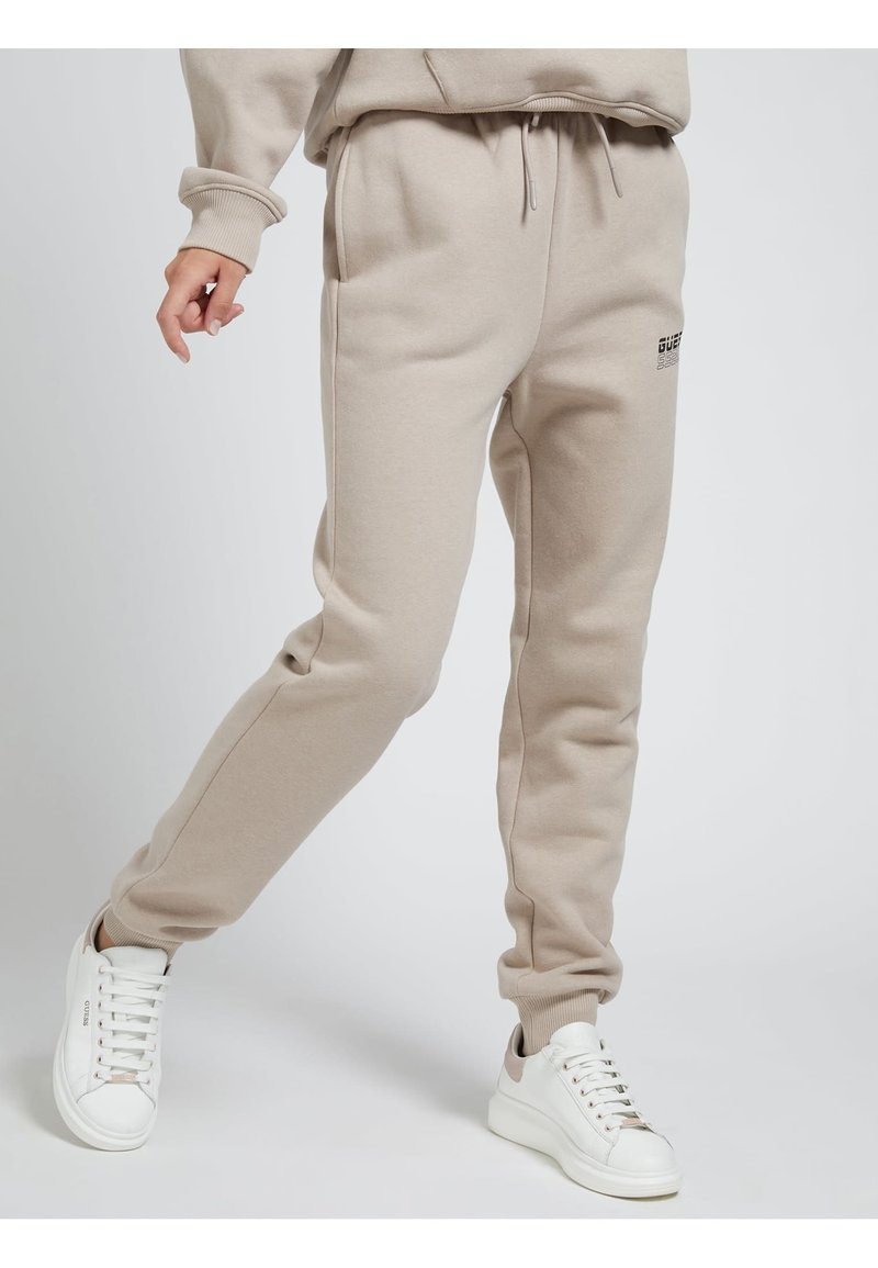 Guess - Tracksuit bottoms - beige