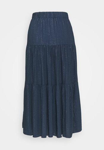 A-line skirt - bleu marine