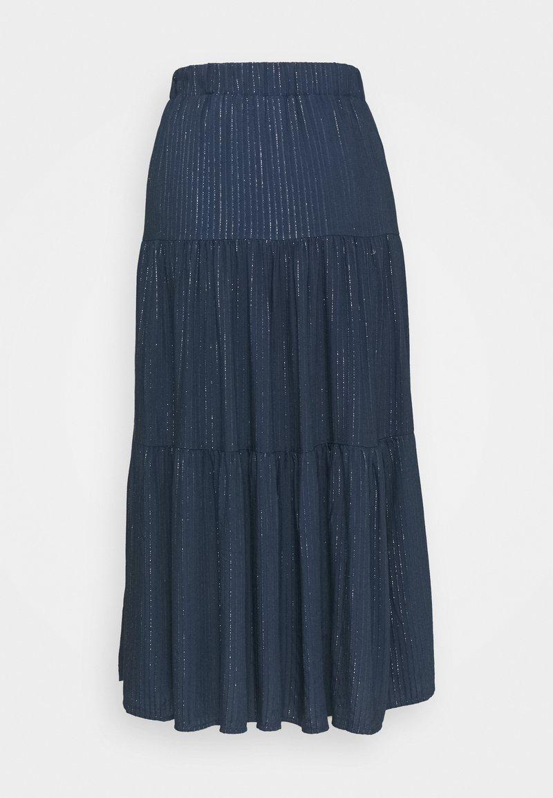 NAF NAF - A-line skirt - bleu marine