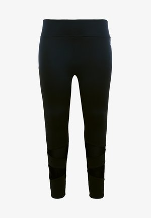 ABAGUIO ANCLE PANTS - Leggings - black