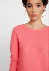TOM TAILOR - SWEATER NEW OTTOMAN - Jumper - charming pink - 3
