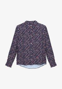 Brava Fabrics - KOKESHI - Button-down blouse - blue - 4