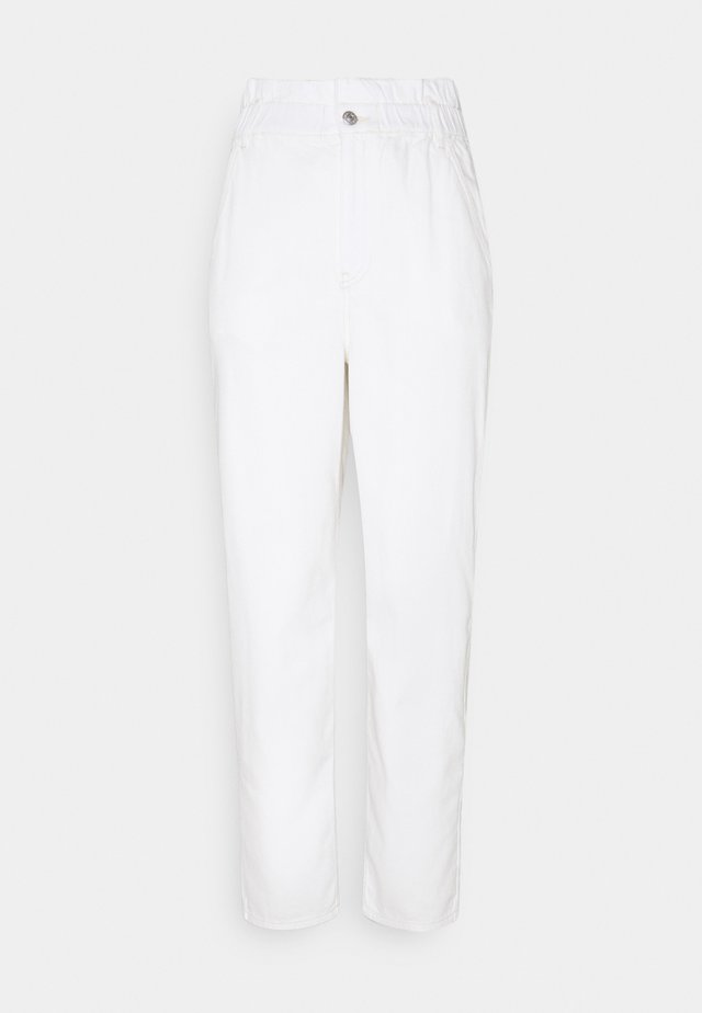 WAIST BAGGY  - Jeans Relaxed Fit - offwhite