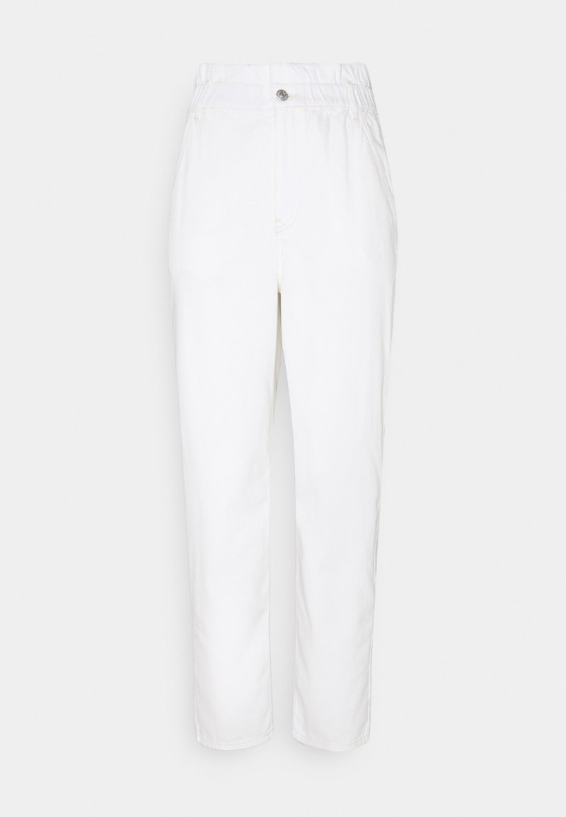 NA-KD - WAIST BAGGY  - Jeans relaxed fit - offwhite