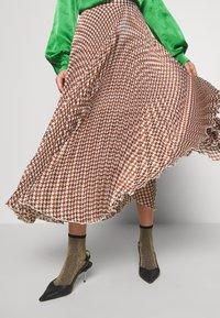 Birgitte Herskind - NESSA SKIRT - Maxi skirt - pepita - 3