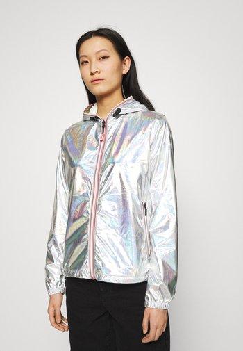 WOMENS SHELL JACKET - Waterproof jacket - silver