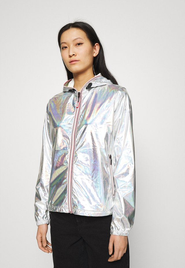 WOMENS SHELL JACKET - Regenjas - silver