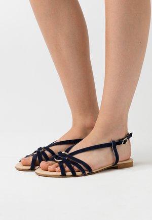 LEATHER - Sandaler - blue